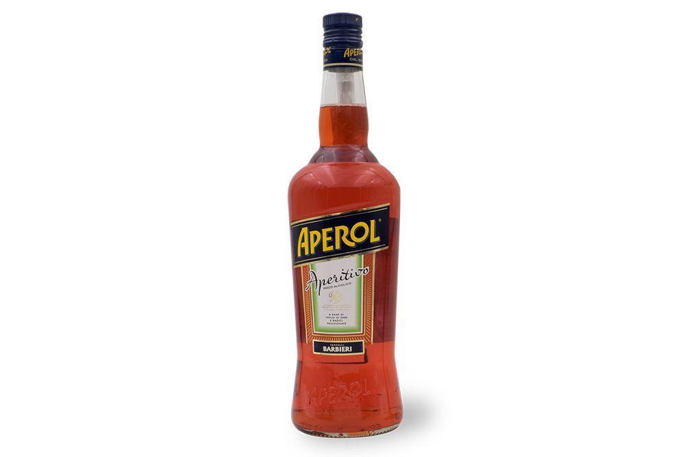 Fotografia de botella Aperol