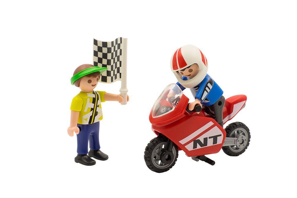 Fotografia de juguetes playmobil